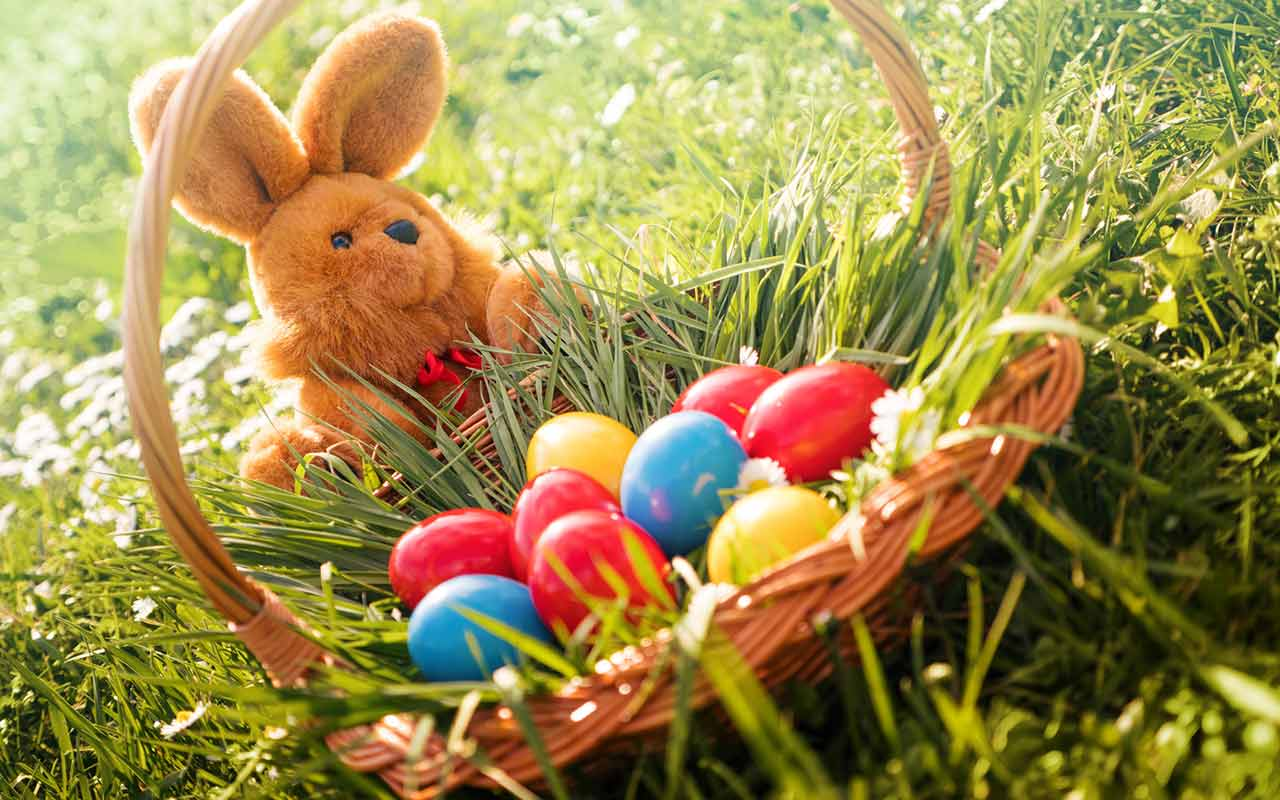 Dates of the orthodox easter (public holiday)