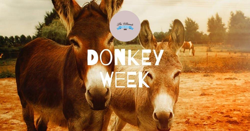 Donkey Week