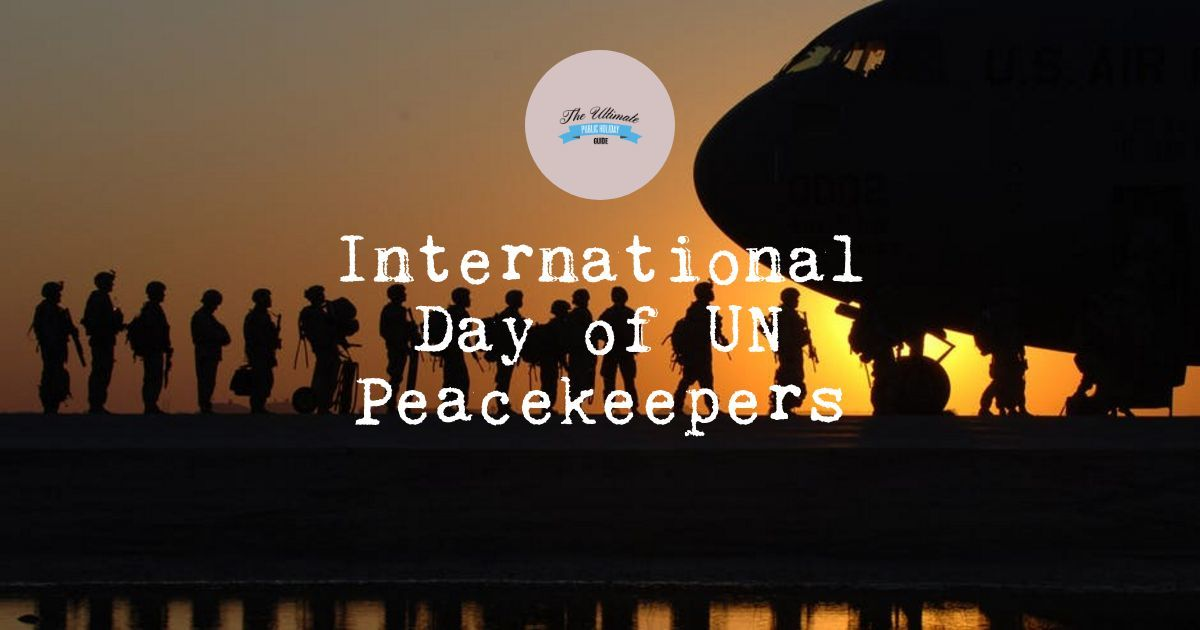International Day of UN Peacekeepers