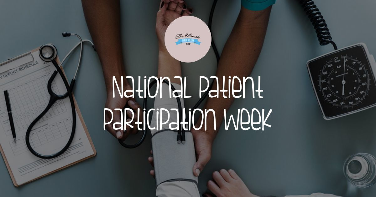 National Patient Participation Week