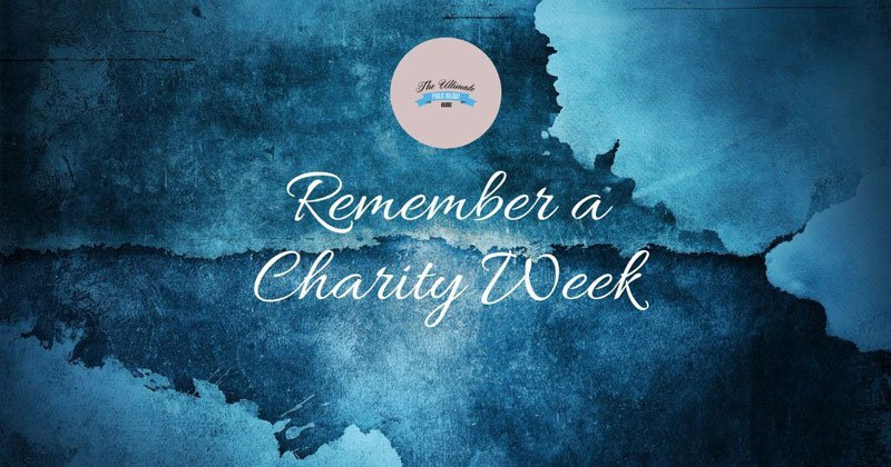 Remember a Charity Week