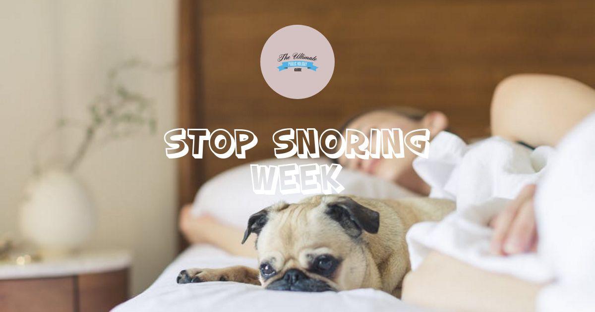 Stop Snoring Week